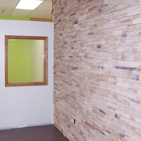 04 Office Stone Wall