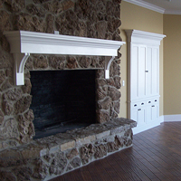 09 Rough Rock Fireplace
